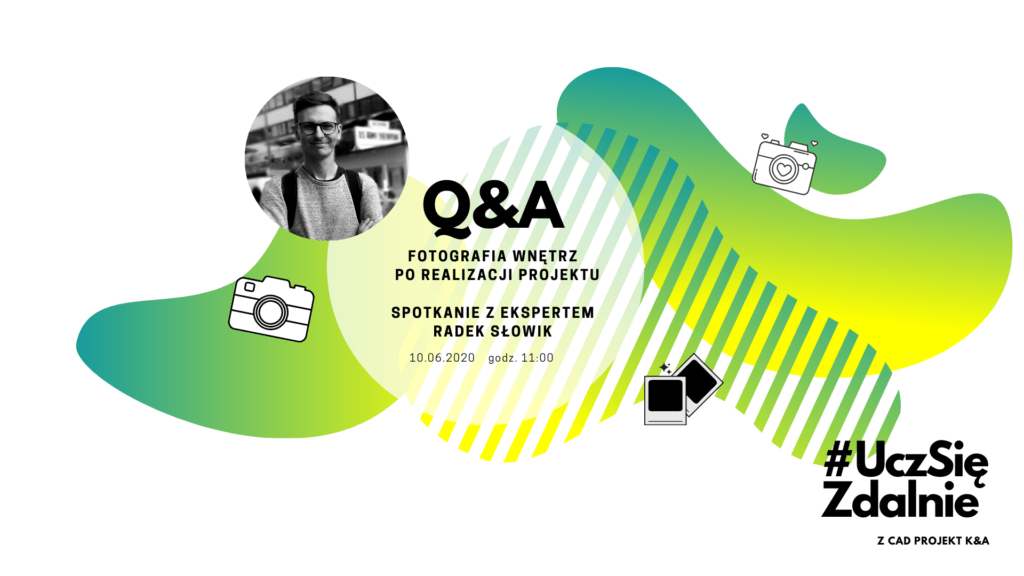 Q&A o fotografii wnętrz z marką CAD Projekt K&A